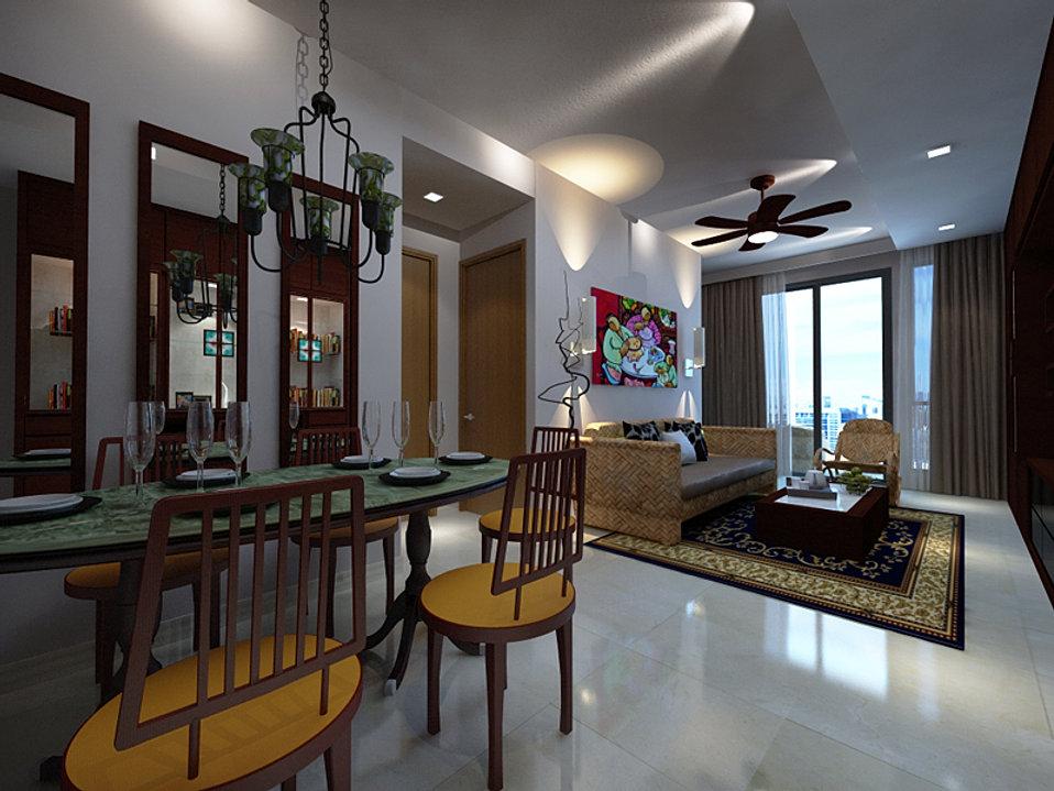 Space define interior home renovation singapore for Classic contemporary interior design definition