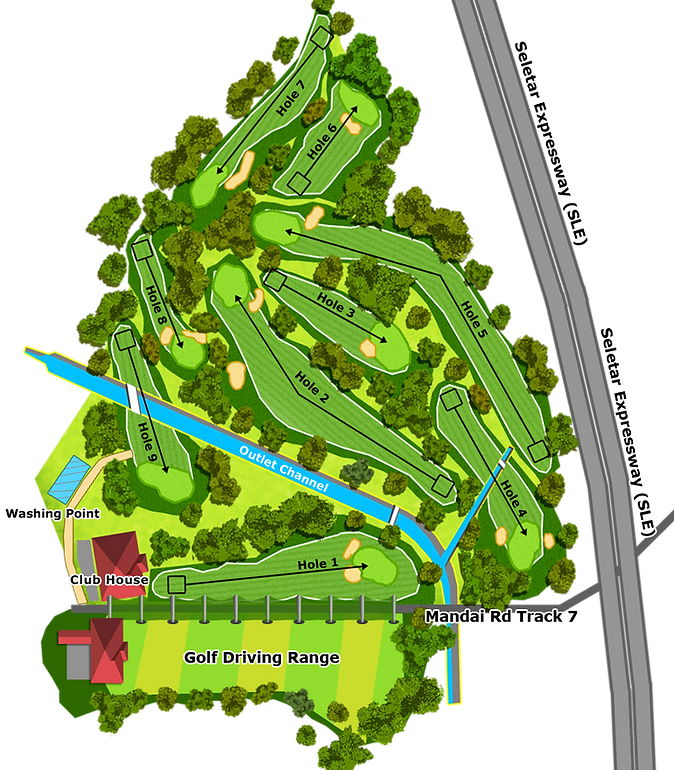 mandai golf course layout