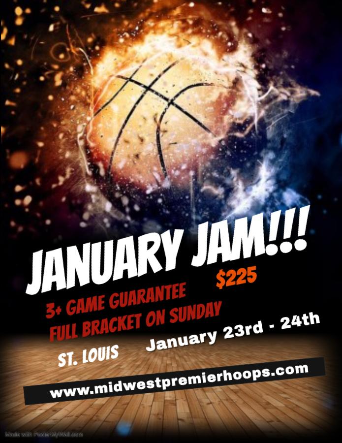 January Jam Flyer