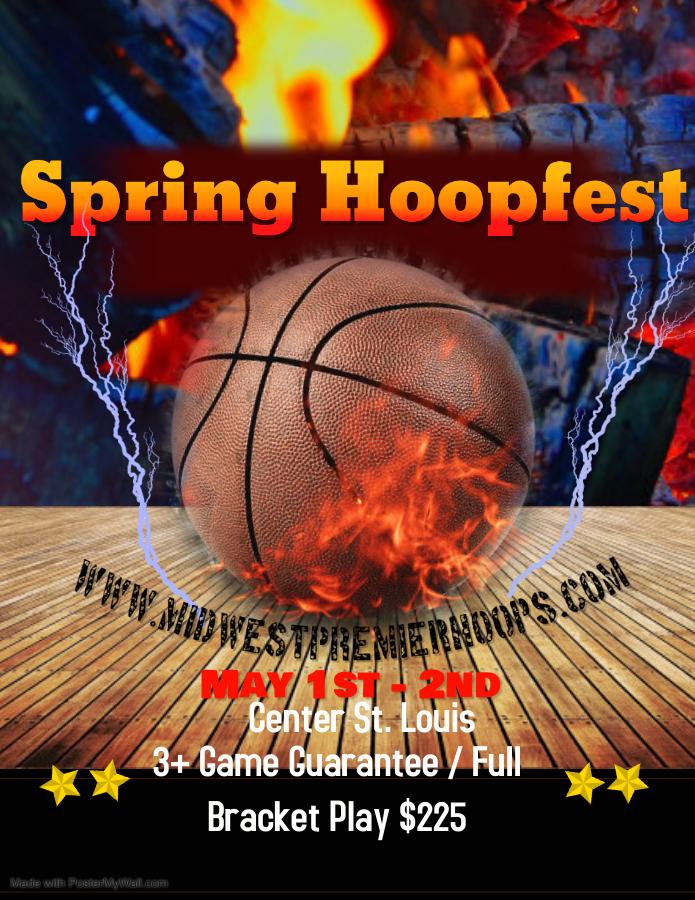 Spring Hoopfest Flyer