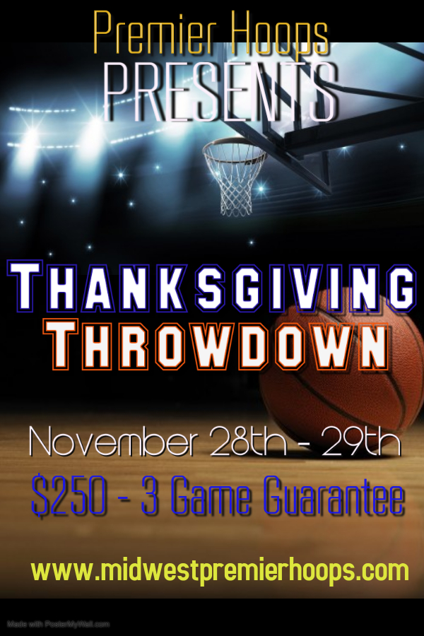 Thanksgiving Throwdown Flyer 2020