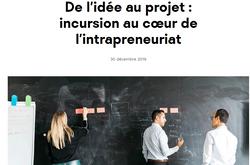 De l'idée au projet : immersion au cœur de l'entrepreneuriat