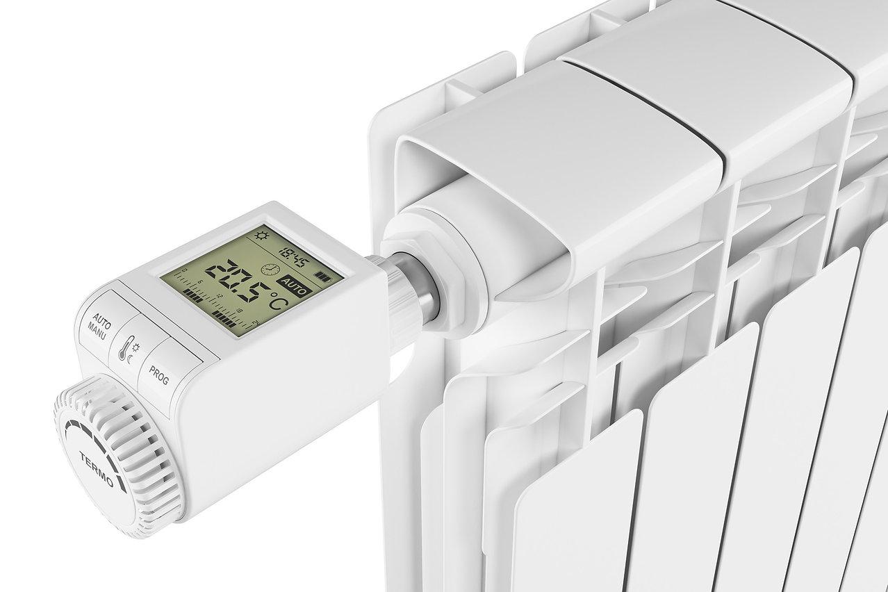 Heizung mit Thermostat