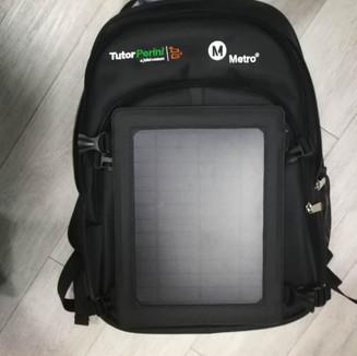 Solar Power Backpack