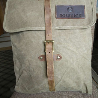 Waxed Backpack