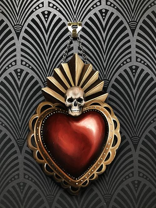 Skull Sacred Heart
