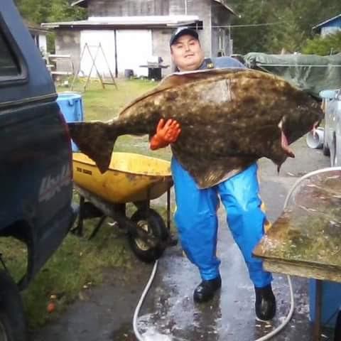 Commercial halibut fisherman Robert