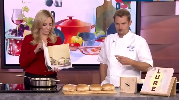 Watch: Chef Ned Bell Makes Pacific Halibut Burgers on CTV News