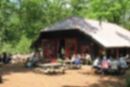 Theehuis T Hooge Erf in het Lage Vuursche bos
