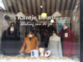 Kante Boord in Naarden kleding winkel