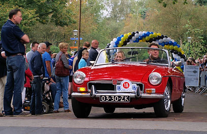 Old timers rally in het Gooi