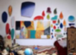 Ned Evans, Los Angeles artist, abstract art, contemporary art
