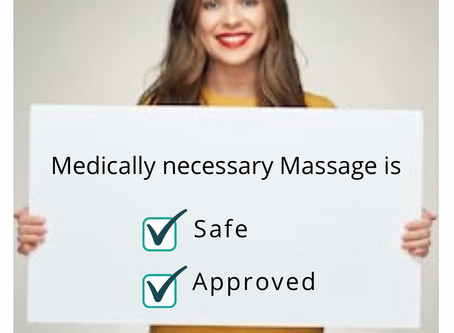 State & Local authorities approve massage again!