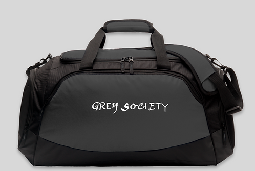 Grey Society Duffel Bag