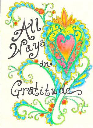 All Ways in Gratitude