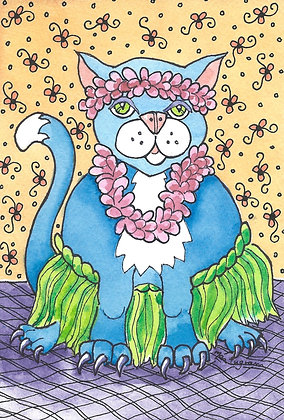 Hula Cat