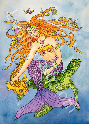 Mermaid & Pals