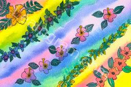 Rainbow Lei