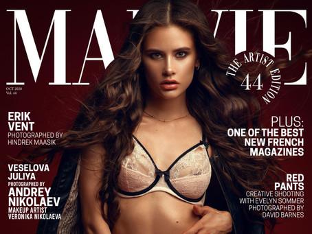 Обложка французского журнала MALVIE Magazine