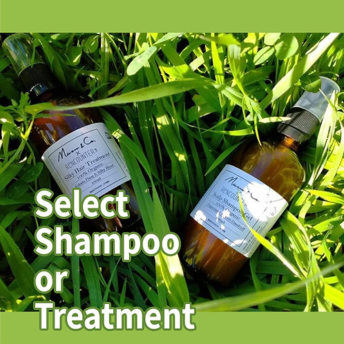 Organic Hair Care *Select Shampoo or Treatment