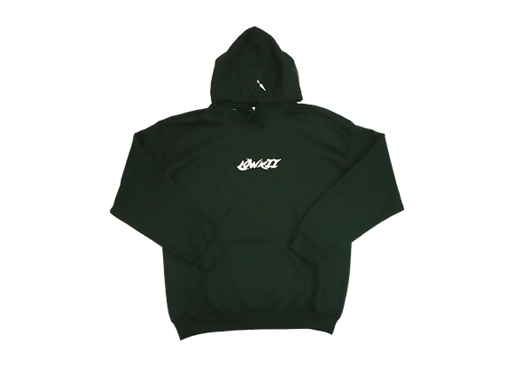 Embroidered LowKii Hoodie [forrest green}]