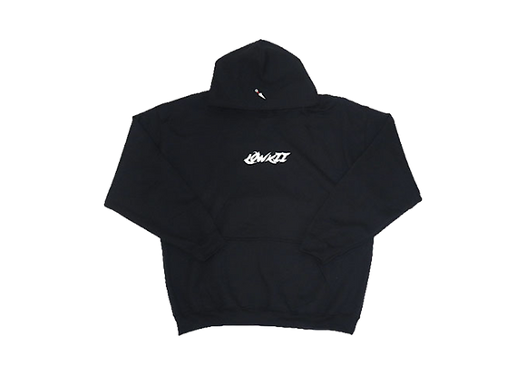 Embroidered LowKii Hoodie {black}