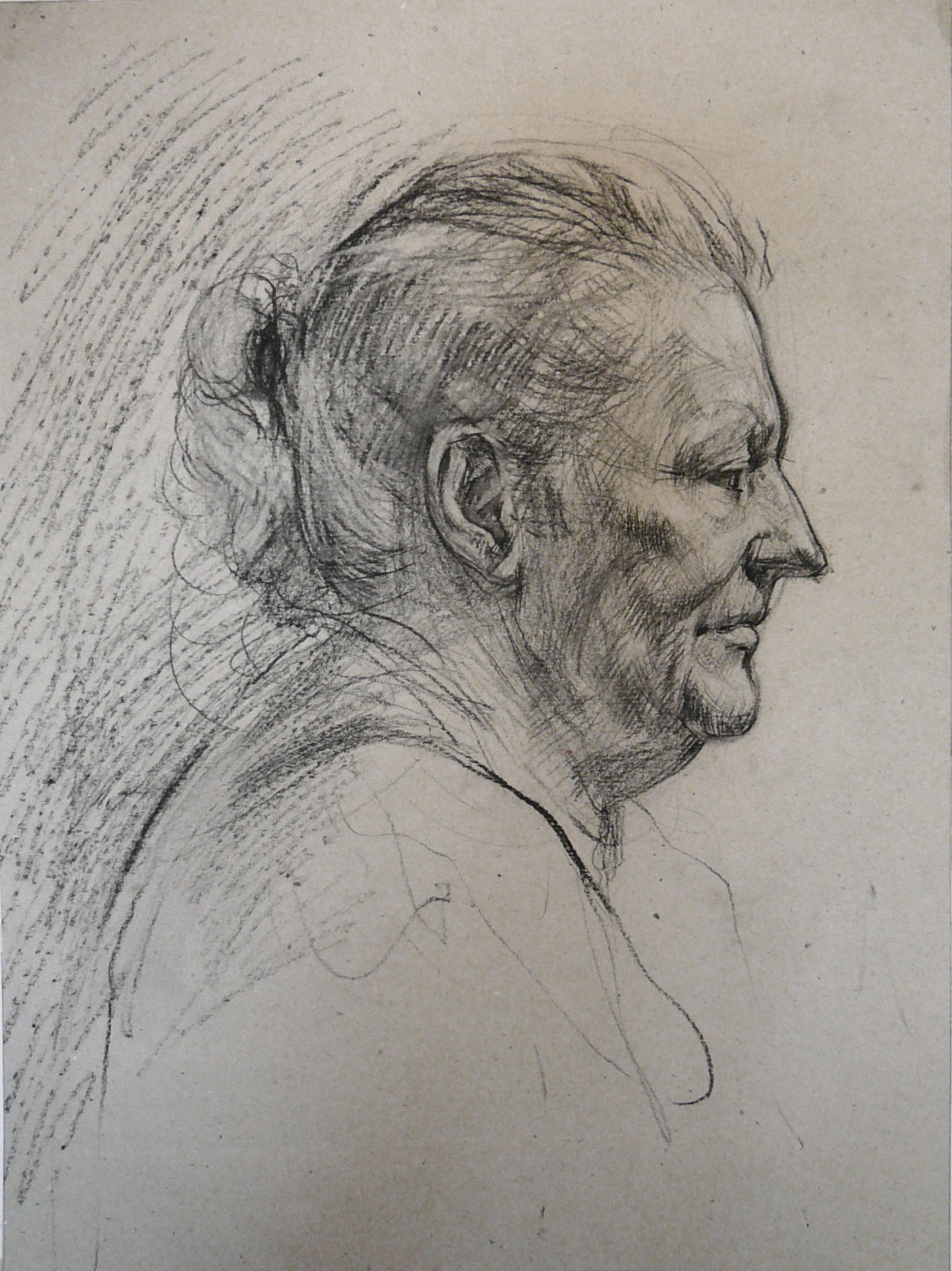 Portrait of The Old Lady