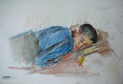 Sleeping Khazbi