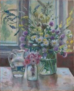 Bouquet in a Glass Jar
