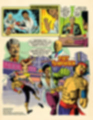 Fist of Frankenstein Comics Brochure 8.5