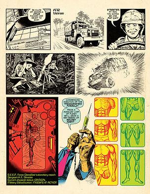 Fist of Frankenstein Comics Brochure 8.5