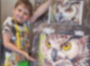 Jūsu bērns - mākslinieks. IZO nodarbības bērniem.