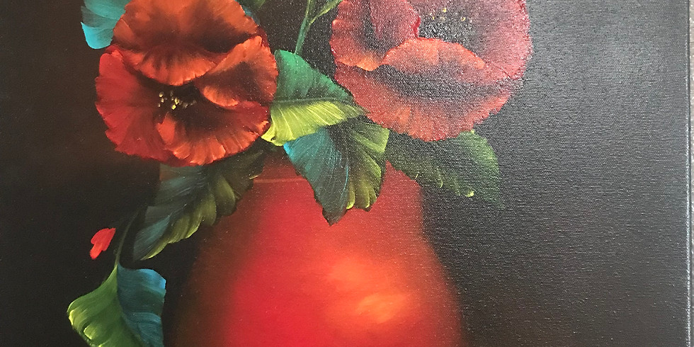 Red Poppies on Table - Expo Rec Center