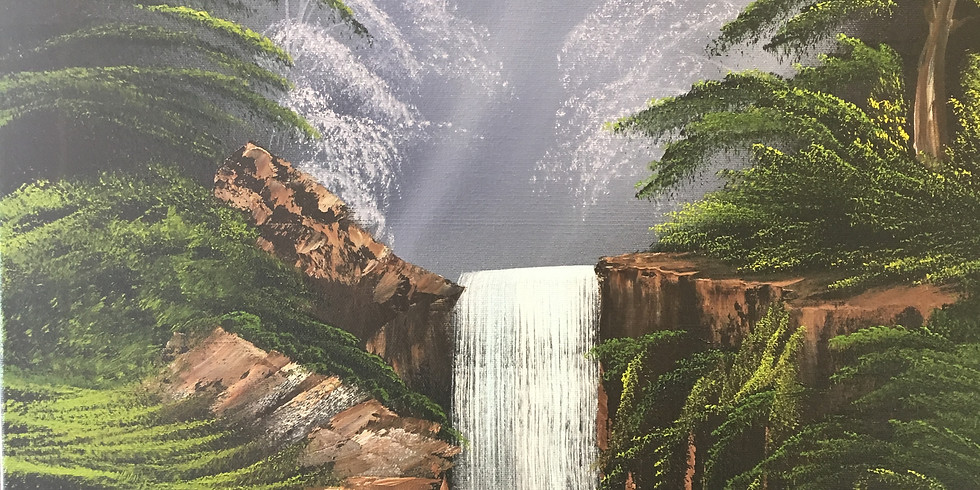 Sidney - Waterfall in the woods