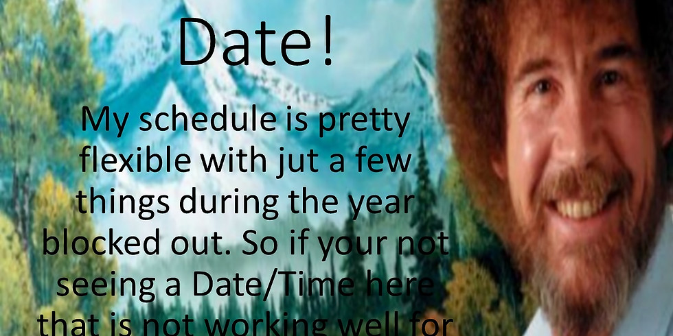 Due to busy summer schedules not as many dates are planed. If your wanting a date you have in mind call me!!,