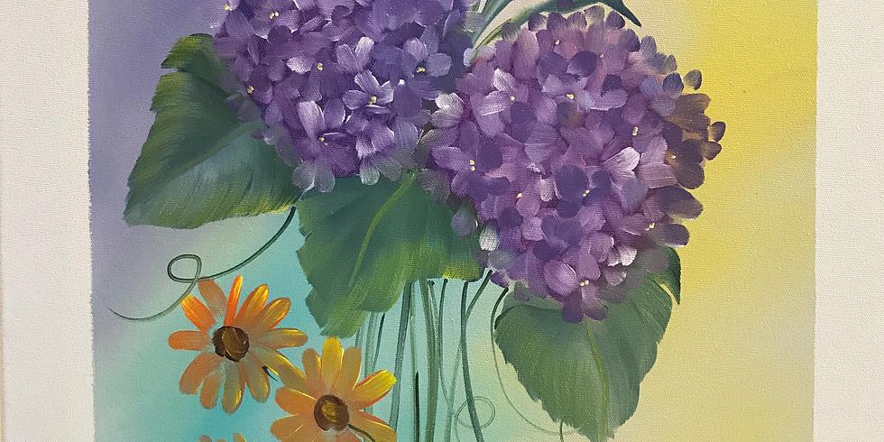 Lilacs - Bi Centennial Art Center