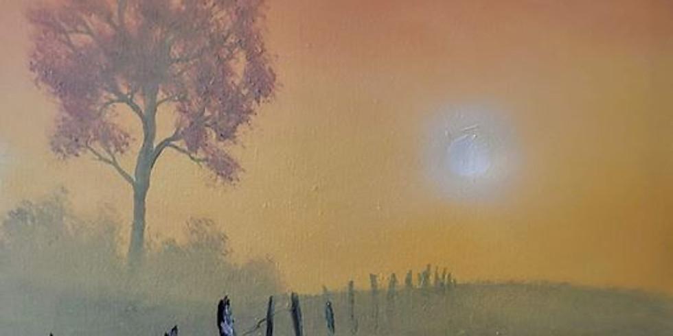 Burning Through the Haze - by JD Wayne - Expo Rec Center