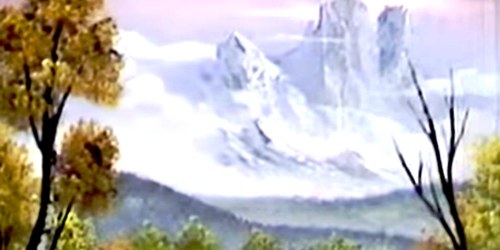 Quick Landscape painting - 2 Hours