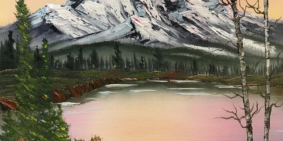 Painting in Kirk, Colorado