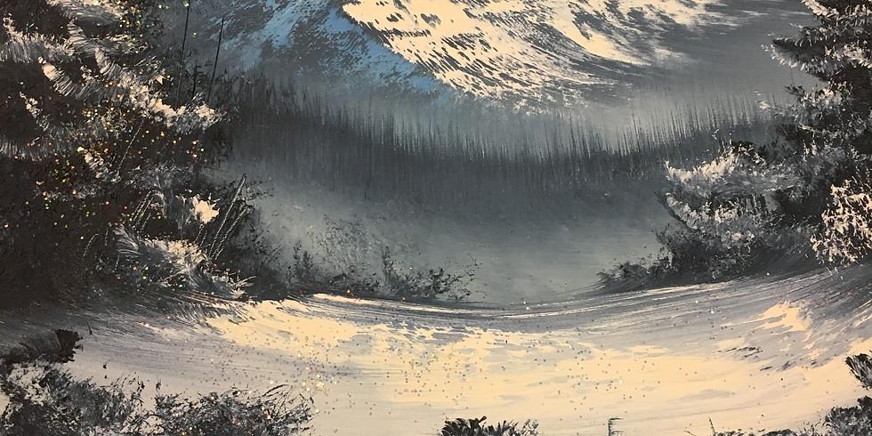 Landscape Class w/ Glitter