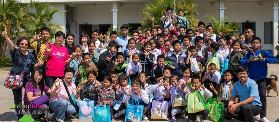 Deaf & Mute Students @ Special Education School of Luangphrabang