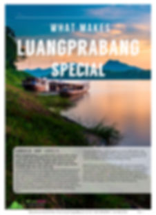 What Makes Luangprabang Special