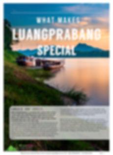 What Make Luangprabang Special