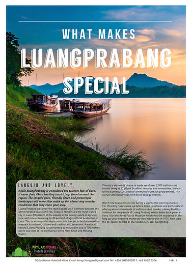 What Makes Luangprabang Special