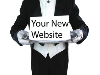 Your website has landed...
