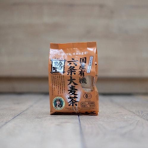 Thé d'orge bio de Rokujo en sachets