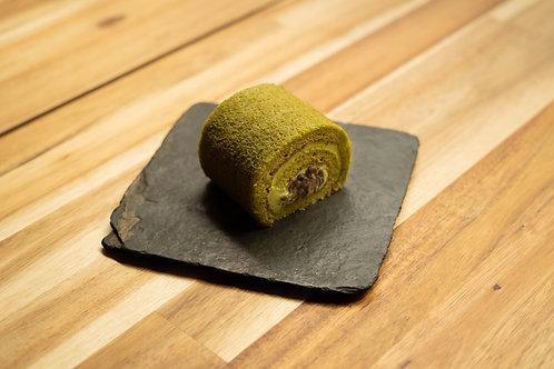 Machta Roll (gâteau roulé au matcha)