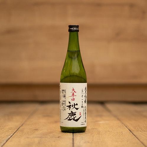 AKISHIKA Ō KARAKUCHI Junmai Ginjo Nama Genshu