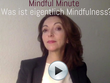 Was ist eigentlich Mindfulness?