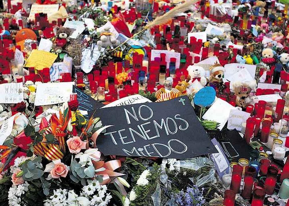 Wir haben keine Angst. Nicht nur die Menschen, die beim Anschlag in Barcelona dabei waren, werden psychologische Beratung brauchen. Auch für andere, die nicht vor Ort waren, kann so ein Vorfall den Alltag erschüttern